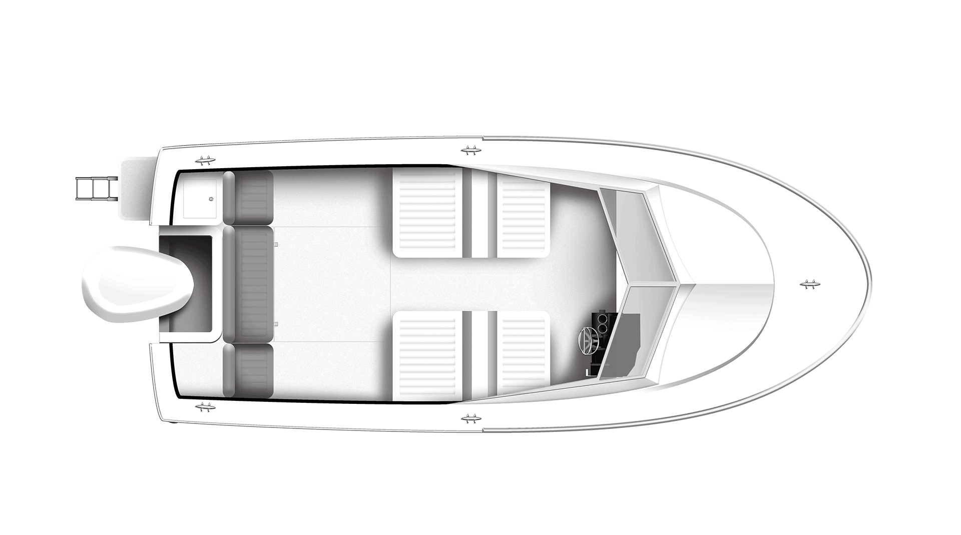 200R Runabout Overhead